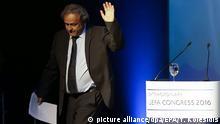 Griechenland Michel Platini in Athen