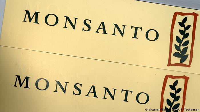 Логотип американского концерна Monsanto