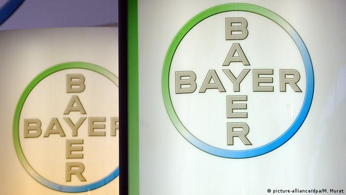 Das Logo des Bayer-Konzerns (picture-alliance/dpa/M. Murat)