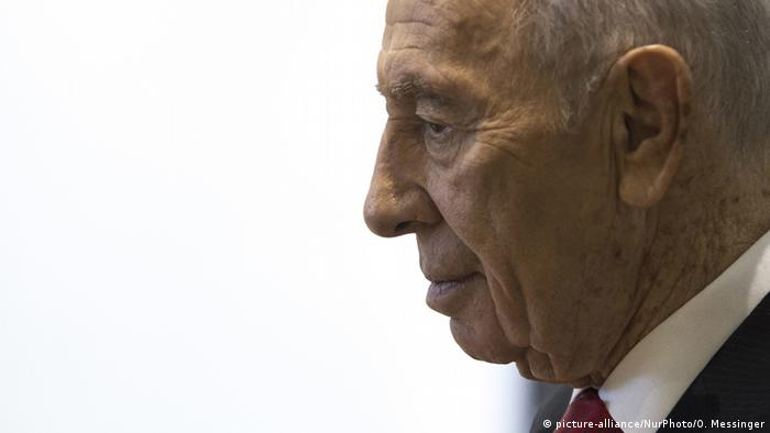 Israel Schimon Peres (picture-alliance/NurPhoto/O. Messinger)
