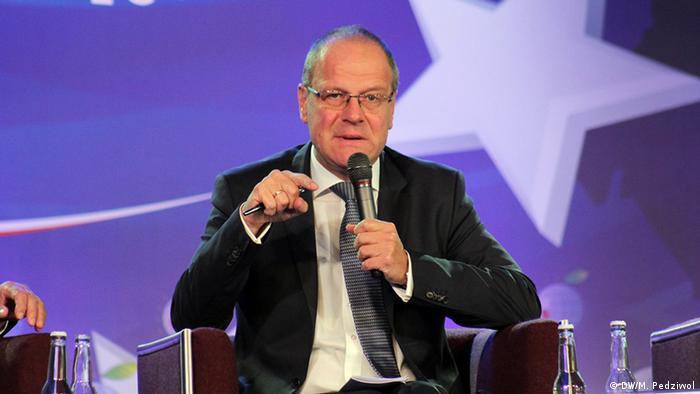 Tibor Navracsics, comisar european pentur Educaţie, Cultură, Tineret şi Sport (DW/M. Pedziwol)