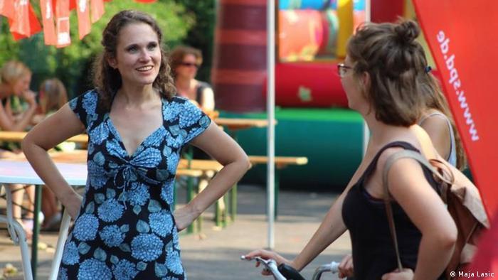 Deutschland Maja Lasić, SPD-Kandidatin Abgeordnetenhaus von Berlin