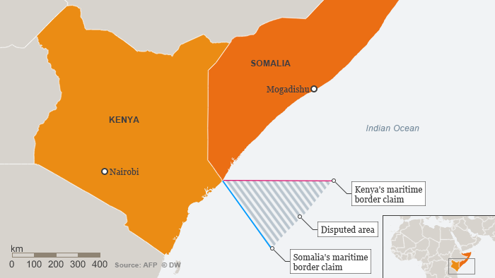 Image result for Somalia-Kenya border dispute