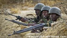 Somalia Kenianische Soldaten im Kampf gegen gegen Al-Shabaab