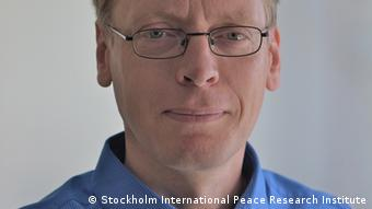 SIPRI Senior Researcher Pieter Wezeman (Stockholm International Peace Research Institute)