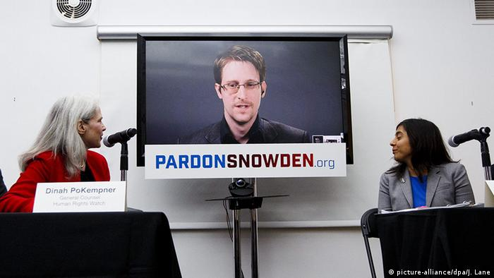 New York Pardon Snowden Kampagne