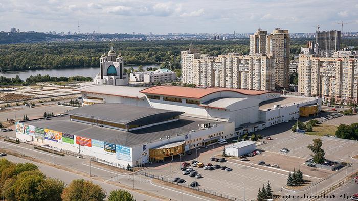 Международный выставочный центр в Киеве, где пройдет Евровидение-2017