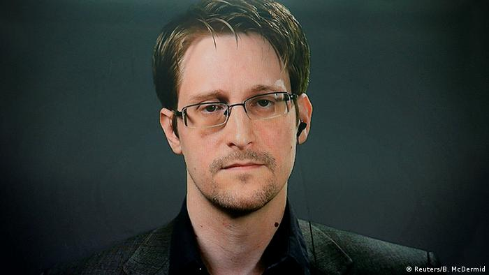 New York Pardon Snowden Kampagne Videoschalte (Reuters/B. McDermid)