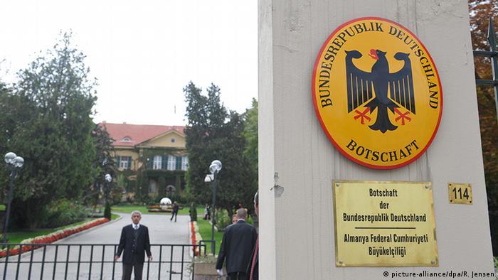 Germany's embassy in Ankara