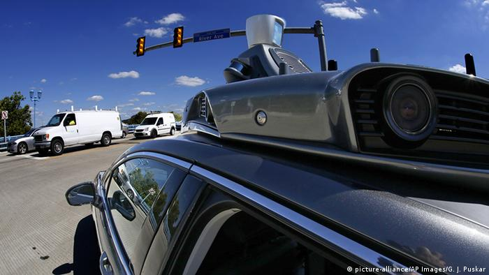 USA Pittsburgh Uber Autonomes Fahren (picture-alliance/AP Images/G. J. Puskar)