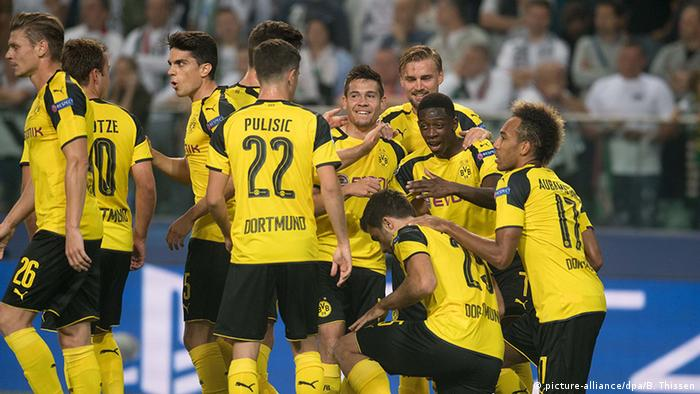 Fußball UEFA Champions League Borussia Dortmund - KP Legia Warschau
