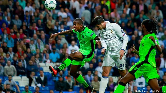 Fußball UEFA Champions League Real Madrid - Sporting Lissabon