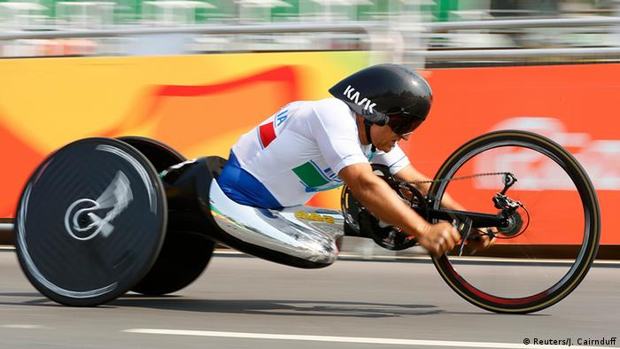 Brasilien Paralympics Rio 2016 Radrennen Männer (Reuters/J. Cairnduff)