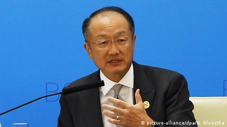 Jim Yong Kim (picture-alliance/dpa/N. Shrestha)