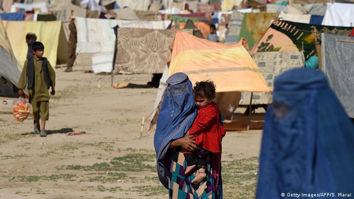 Flüchtlingslager in Afghanistan (Foto: Getty Images/AFP)