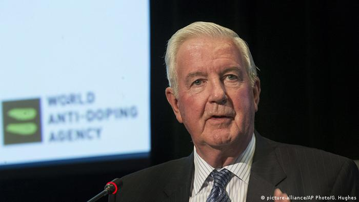 WADA Präsident Craig Reedie PK in Montreal (picture-alliance/AP Photo/G. Hughes)