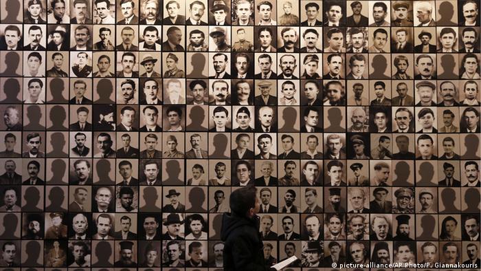 Griechenland Holocaust-Museum in der Stadt Kalavryta