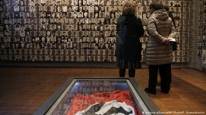 Holocaust-Museum in der Stadt Kalavryta (Foto: AP Photo/Petros Giannakouris)