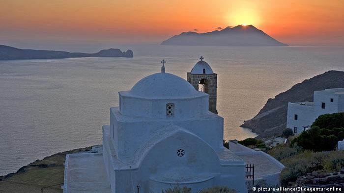 Griechenland Insel Milos Kykladen (picture-alliance/Bildagentur-online)