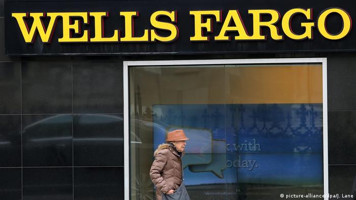 USA Wells Fargo Bank in New York (picture-alliance/dpa/J. Lane)