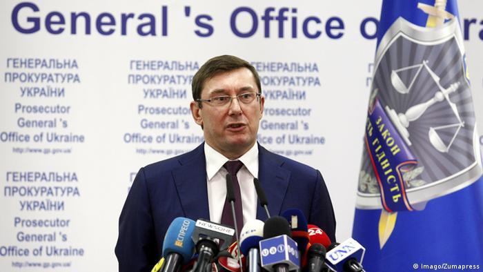 Юрій Луценко звинуватив Саакашвілі у зв'язках із cім'єю Януковича