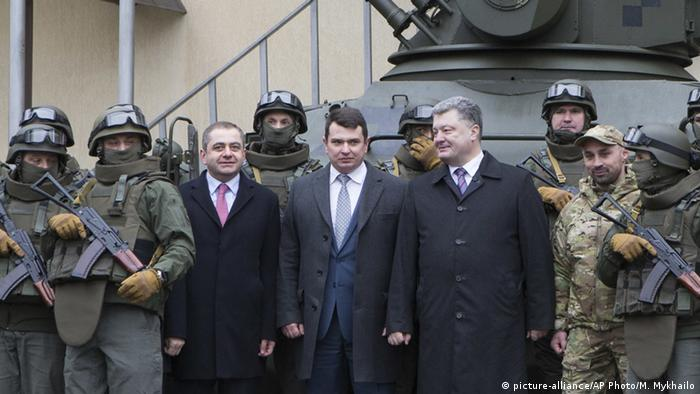 Президент України Петро Порошенко та голова НАБУ Артем Ситник