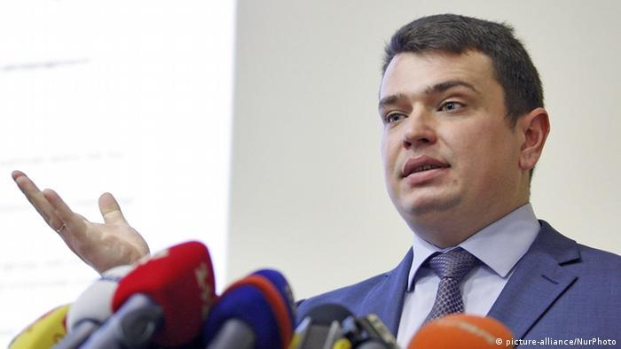 Керівник Національного антикорупційного бюро України (НАБУ) Артем Ситник