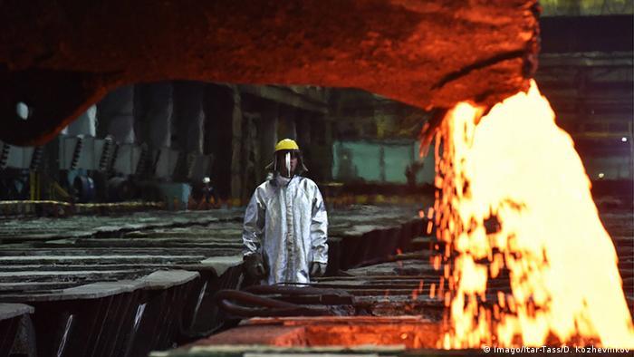 Металлургический комплекс Надежда в Норильске, фото из архива