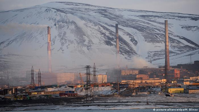 Russland Norilsk Industrie (picture-alliance/dpa/M. Blinov)