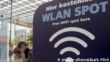WiFi hotspot in Berlin
