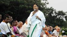 West Bengal Chef-Ministerin Mamata Bannerjee
