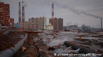 Промышленная зона Норильска