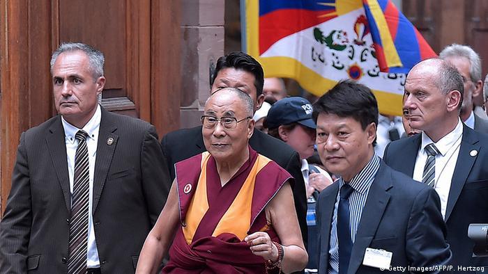 Далай-лама в Совете Европы