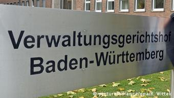 Το Ανώτατο Διοικητικό Δικαστήριο της Βάδης-Βυρτεμβέργης