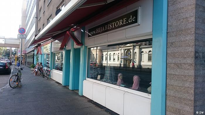Hijabi Store in Frankfurt Main