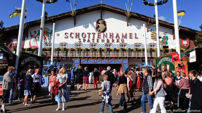 Tenda Schottenhamel na Oktoberfest