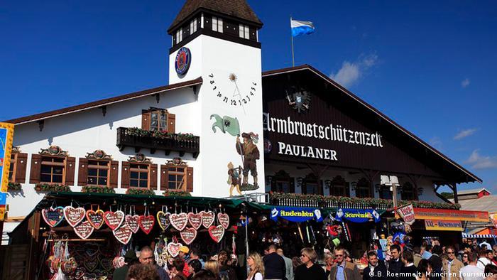 Zelt-Guide für das Oktoberfest Bierzelt Armbrustschuetzenbierzelt