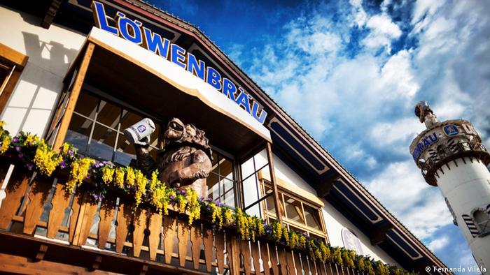 Zelt-Guide für das Oktoberfest Löwenbräu