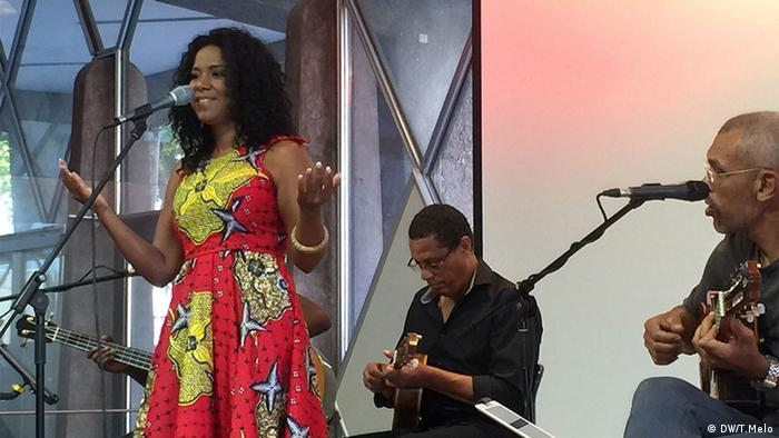Deutschland - Cape-verdean Nancy Vieira presents concert in Cologne