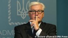 Ukraine - Außenminister Frank-Walter Steinmeier