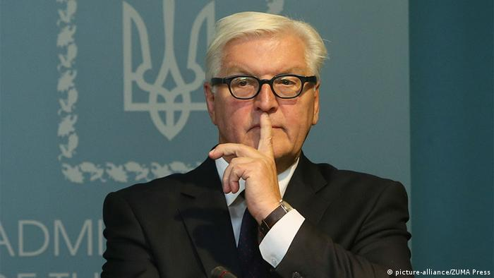 Ukraine - Außenminister Frank-Walter Steinmeier (picture-alliance/ZUMA Press)
