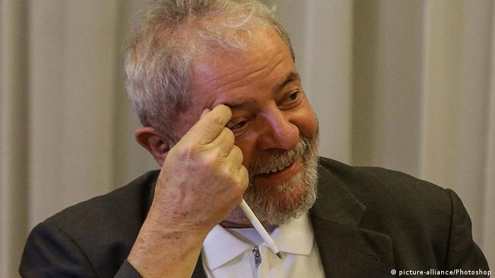 Brasilien - Luiz Inacio Lula da Silva während einer Versammlung des National Political Council of the Worker's Party