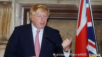 Italien - Außenminister Boris Johnson