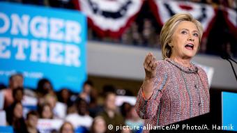 USA Hillary Clinton Rede in North Carolina