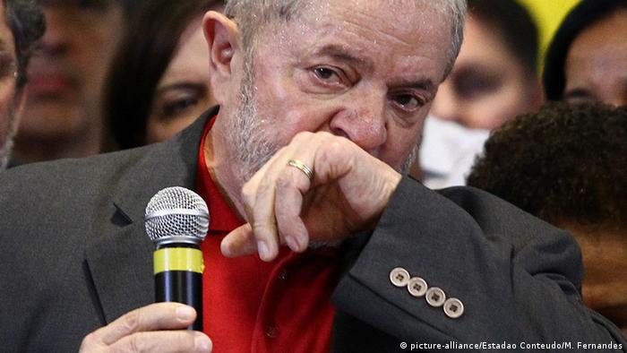 Brasilien PK Luiz Inácio Lula da Silva (picture-alliance/Estadao Conteudo/M. Fernandes)