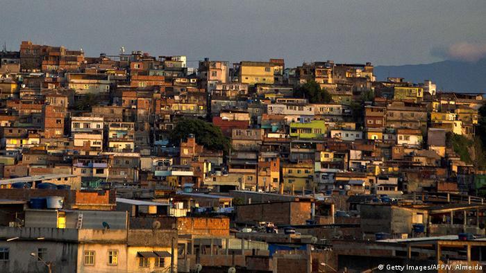 Vista da Favela Maré, no Rio de Janeiro