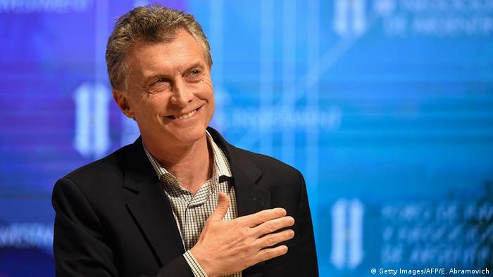 Argentinien Mauricio Macri Wirtschafts- und Investment-Forum in Buenos Aires (Getty Images/AFP/E. Abramovich)