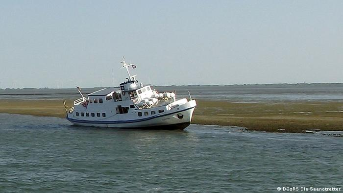 Ваттовое мелководье в районе острова Лангеог