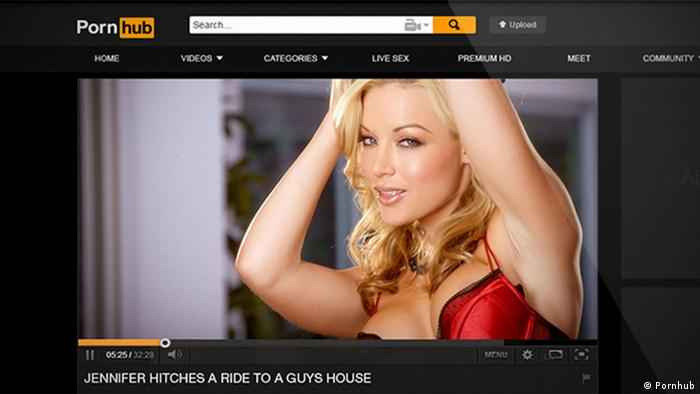Pornhub Webseite