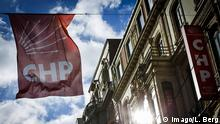 ISTANBUL - Turkey - 01. November 2015. A flag with the logo of Turkey s main opposition Republican People s Party (CHP) in a street near Taksim Square. Turks were voting Sunday in one of the most crucial elections in years. - - - Istanbul Turkey 01 November 2015 a Flag With The emblem of Turkey S Main Opposition Republican Celebrities S Party CHP in a Street Near Taksim Square Turks Were Voting Sunday in One of The Most Crucial Elections in Years (c) Imago/L. Berg